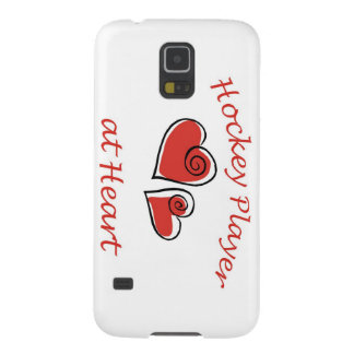 Hockey Player at Heart Galaxy S5 Covers