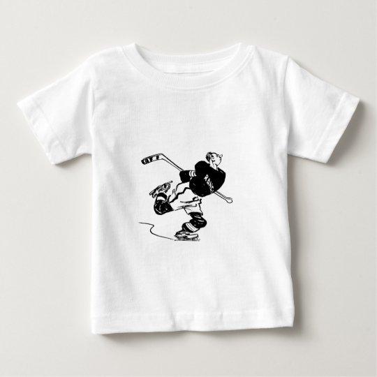 Hockey Player Baby T-Shirt