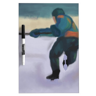 Hockey Player, Dry Erase Board