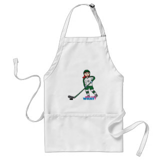 Hockey Player Light/Red Aprons