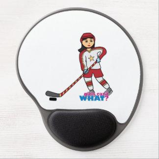 Hockey Player - Medium Gel Mousepad