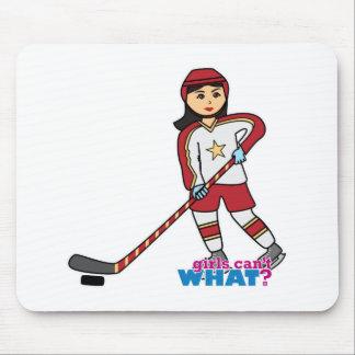 Hockey Player - Medium Mousepads