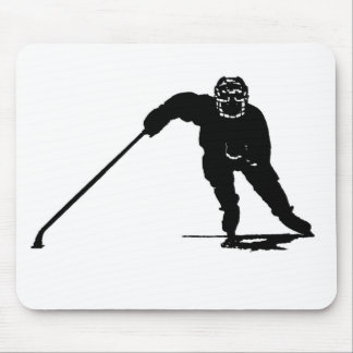 Hockey Player Mouse Pad