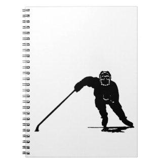 Hockey Player Notebooks