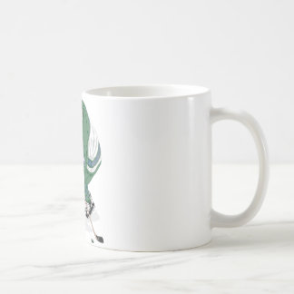 Hockey Player On The Ice Coffee Mug