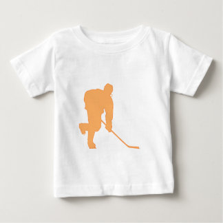 Hockey_Player_ORANGE2 Baby T-Shirt