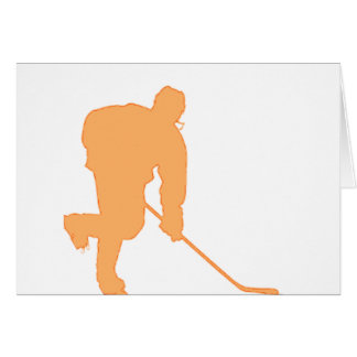 Hockey_Player_ORANGE2 Card