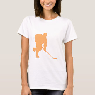 Hockey_Player_ORANGE2 T-Shirt