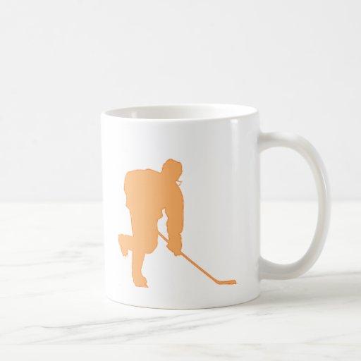 Hockey_Player_ORANGE2 Taza
