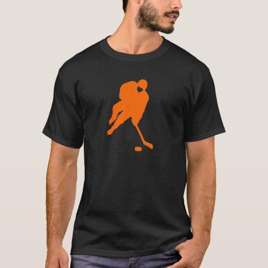 hockey player orange T-Shirt