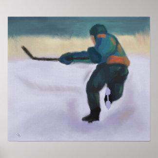 Hockey Player, Poster