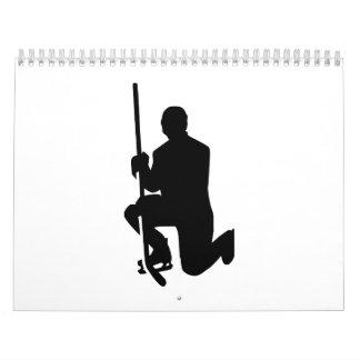 Hockey player winner champion calendar