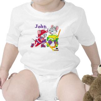 hockey trajes de bebé