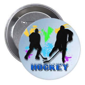 Hockey Players Button
