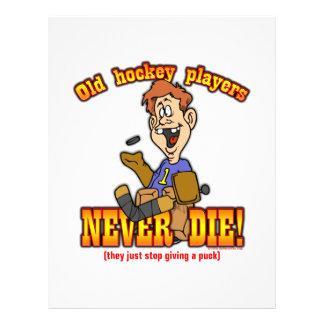 Hockey Players Flyer