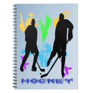 Hockey Players Notebook