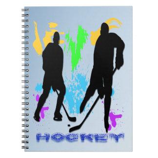 Hockey Players Notebook
