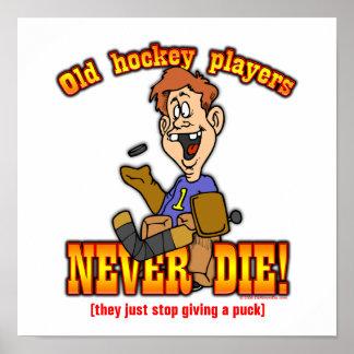 Hockey Players Print