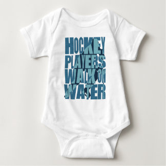 Hockey Players Walk On Water Baby Bodysuit