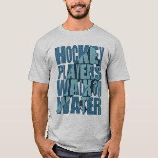Hockey Players Walk on Water Back Print T-Shirt