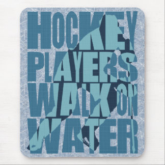 Hockey Players Walk On Water Mouse Pad