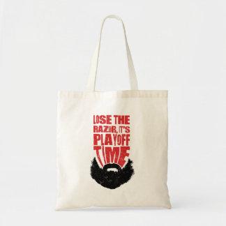 Hockey Playoff Beard Tote Bag