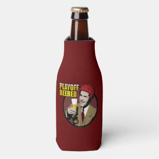Hockey Playoff Beered Bottle Cooler