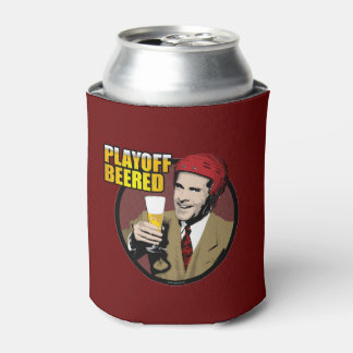 Hockey Playoff Beered Can Cooler
