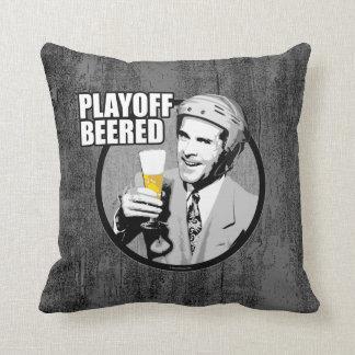 Hockey Playoff Beered Pillow
