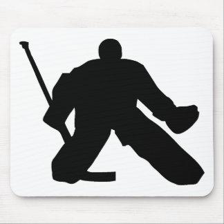 Hockey - portero tapete de ratones