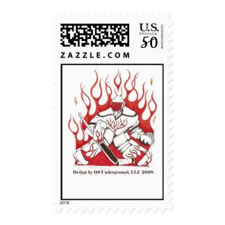 Hockey postage stamp