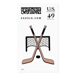 Hockey Postage Stamps