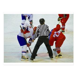 hockey postcard