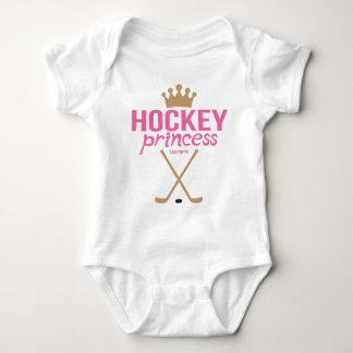 Hockey Princess Baby Girl Infant Bodysuit