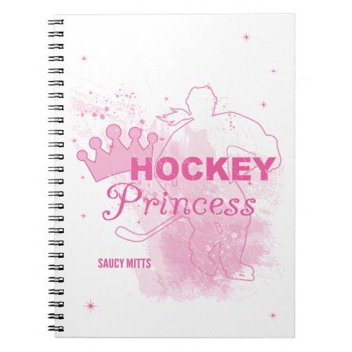 Hockey Princess Notebooks