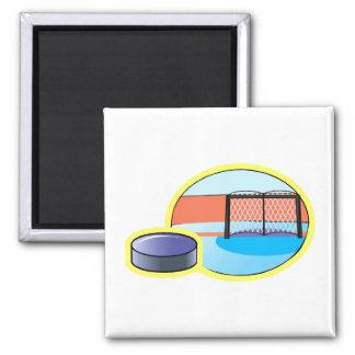 Hockey puck & Goal Magnet