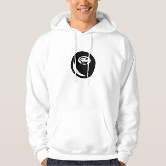 Hockey puck hoodie