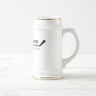 hockey ---- qué más está allí tazas de café