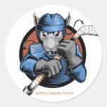 Hockey Rat Sticker