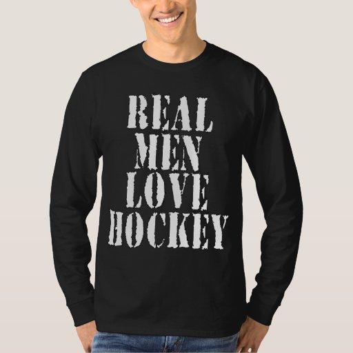 Hockey real del amor de los hombres remera