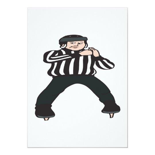 Hockey Referee Card
