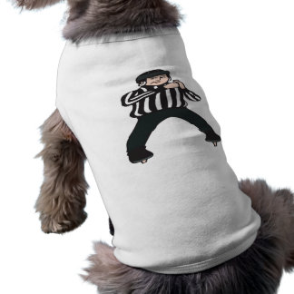 Hockey Referee Dog T-shirt