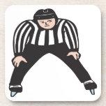 Hockey Referee Drink Coasters