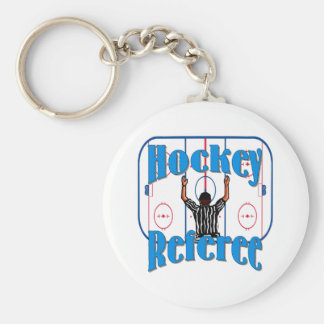 Hockey Referee Keychain