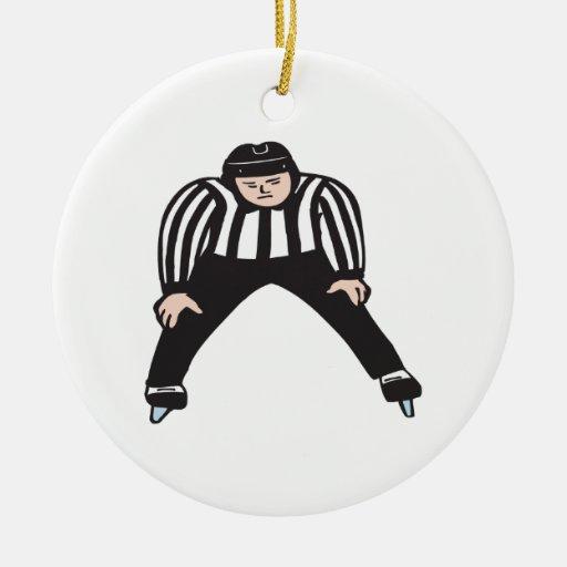 Hockey Referee Ornaments