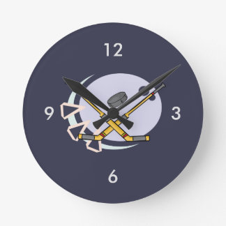 Hockey Reloj Redondo Mediano