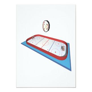 Hockey Rink Card
