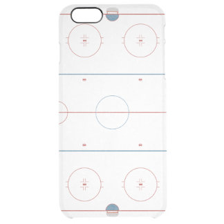 Hockey Rink Clear iPhone 6 Plus Case