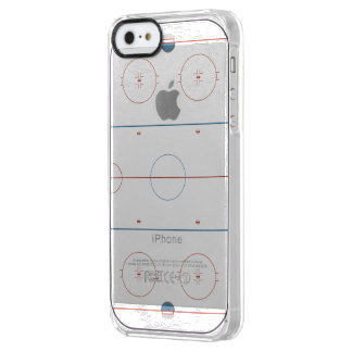 Hockey Rink Clear iPhone SE/5/5s Case