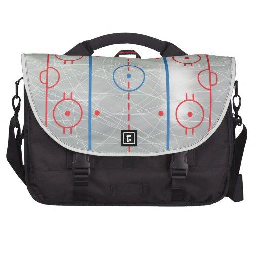Hockey Rink Ice Commuter Bag